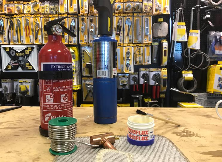 Plumbing Blowtorch Best Practice