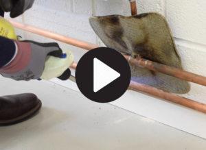 Plumbing blowtorch youtube video