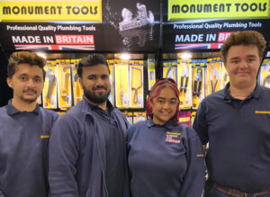 Four Monument Apprentices